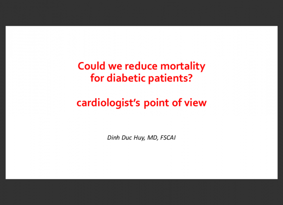 Could we reduce mortality for diabetic patients