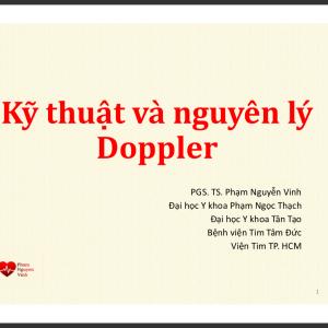 Kỹ thuật và nguyên lý Doppler