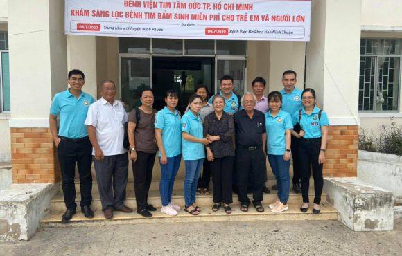 Khám Sàng Lọc Bệnh Tim Bẩm Sinh Miễn Phí Cho Trẻ Em Và Người Lớn Tỉnh Ninh Thuận