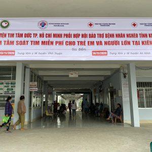 Khám tầm soát bệnh tim miễn phí cho trẻ em và người lớn tại tỉnh Kiên Giang