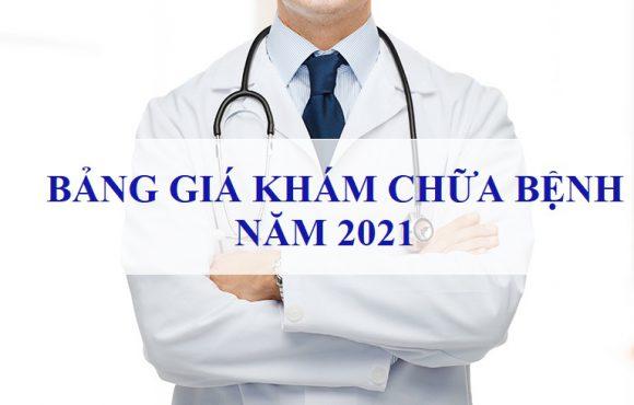 Bảng giá: Khám chữa bệnh năm 2021 – Bệnh Viện Tim Tâm Đức